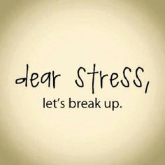 It's A Stressful Time Of Year....Don't Stress!!!