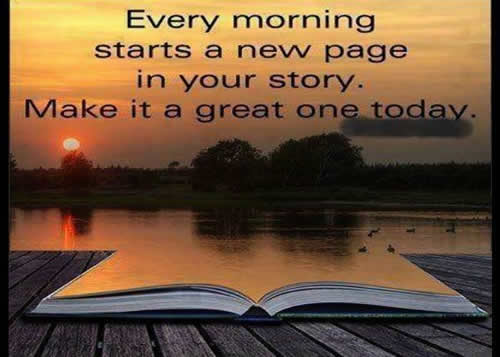 Good Morning!! Make It A Great Day ( :